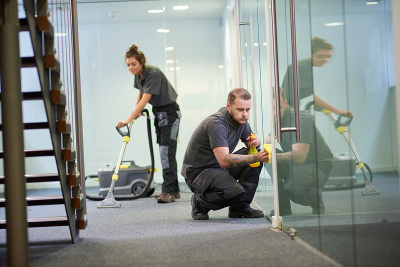 carpet cleaning in the office